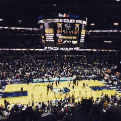 there are not many things better than a grizzlies win at the grindhouse. memphis, tennessee. december 2014.