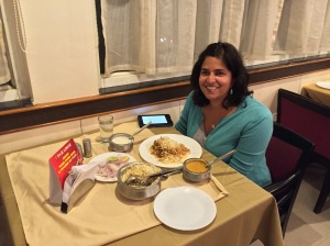 it's not often that i actually get to be in the photos. with my feast at paradise. hyderabad, india. february 2015.