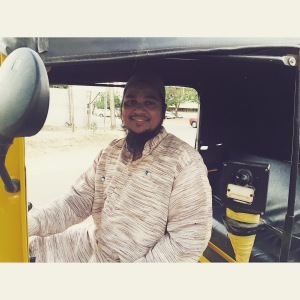 but sometimes you'll get lucky and get a super nice, friendly, generous driver who restores your faith in the profession. hyderabad, india. february 2015.