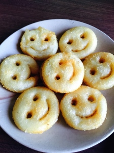 feeling nostalgic with some smileys at koshy's. bangalore, india. march 2015.