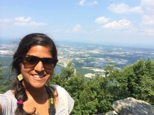 overlooking my beloved chattanooga from point park. lookout mountain, tennessee. july 2014.