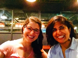 laura was in town from calcutta this week, and we got to have a fun lady date on thursday night. bangalore, india. april 2015.