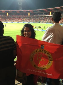 i mean, it was a pretty cool experience. and i scored a free banner! bangalore, india. may 2015.
