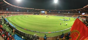 my favourite chinnaswamy stadium. bangalore, india. may 2015.
