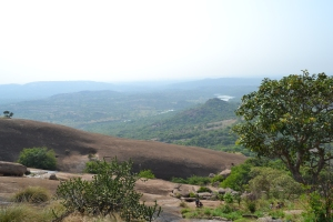 another view from the ascent, because it never gets old. savandurga, india. may 2015.