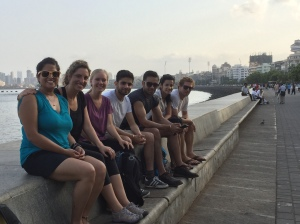 our morning cycle group. bombay, india. may 2015.
