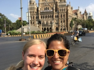 playing tourist with bettina. bombay, india. may 2015.