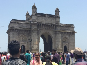 the gateway of india. bombay, india. may 2015.