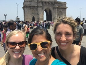 tourist time with bettina and alejandra. bombay, india. may 2015.
