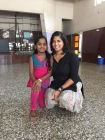 with ashwini, my favourite friend from our summer camp at gurunanak school. bombay, india. may 2015.
