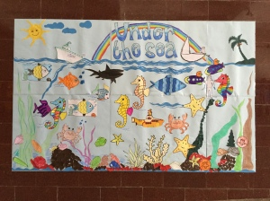 the finished product, with contributions from students, teachers, and engineers. bombay, india. may 2015.