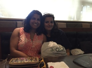 sendoff lunch with my work wife. bombay, india. may 2015.