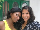i love taking pictures with sneha because we somehow always make each other look amazing. bangalore, india. may 2015.