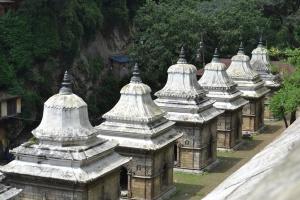 inside pashupathinath. kathmandu, nepal. august 2012.