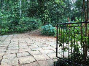 the world's most inviting driveway. coorg, india. june 2015.