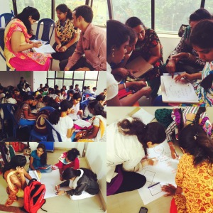 teacher training highlights. bangalore, india. june 2015.