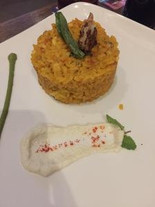 cindy's spanish paella. bangalore, india. september 2015.
