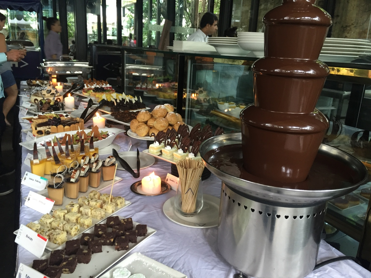 bangalore eats: sunday brunch buffet at the glass house.