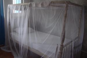 my bed for 3 nights at pedlar's. galle, sri lanka.