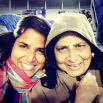all bundled up for a u of m football game. memphis, tennessee. october 2014.