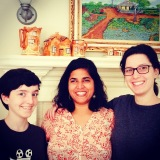 with the little and the middle. little rock, arkansas. december 2014.