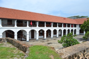 dutch hospital in the fort. galle, sri lanka. september 2015.