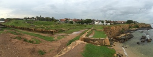 panorama of the fort. galle sri lanka. september 2015.
