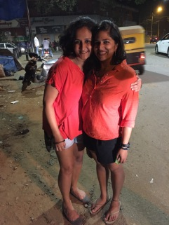 celebrating our successful pub crawl. bangalore, india. october 2015.