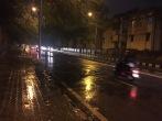lovely bangalore rain. bangalore, india. november 2015.