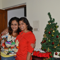avni and me. bangalore, india. december 2015.