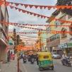 pretty streets. bangalore, india. january 2016.