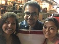 cousin visit! bangalore, india. january 2016.