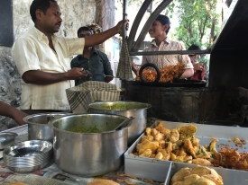 because it's not really a visit to bombay until you've had some vada pav. bombay, india. february 2016.