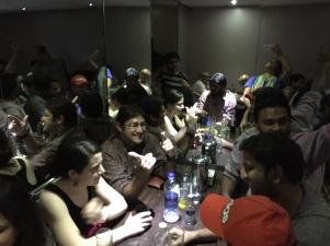 the janata crowd. bombay, india. february 2016.