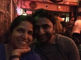 with abhijeet at toto's. bombay, india. february 2016.