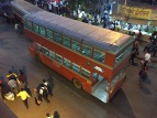 my inner child loves these double decker buses. bombay, india. february 2016.