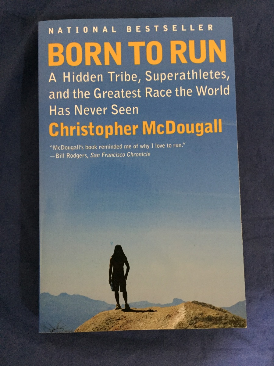 book number five of 2016: born to run [christopher mcdougall].