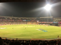 sri lanka v west indies well underway. bangalore, india. march 2016.