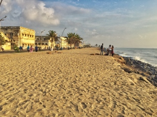 first impressions of pondy. pondicherry, india. march 2016.