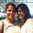 with bharati. bombay, india. may 2016.