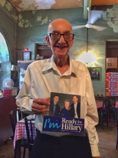the happiest man in bombay and hillary's number one fan. bombay, india. may 2016.