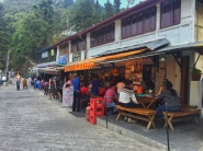 the cafes of char dukaan. mussoorie, india. may 2016.