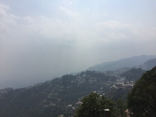 mussoorie views. mussoorie, india. may 2016.