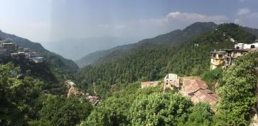 more mussoorie views. mussoorie, india. may 2016.