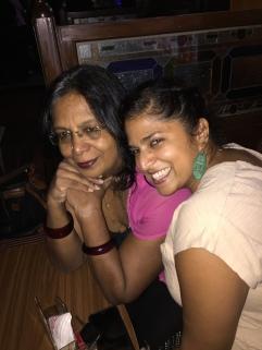 with my amma. bangalore, india. june 2016.
