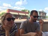 enjoying the bablu patio. memphis, tennessee. june 2016.