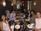 early birthday dinner gang. brooklyn, new york. june 2016.