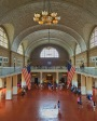 the registration hall. ellis island, new york. june 2016.