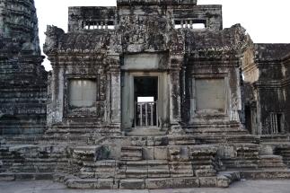 inside angkor wat. siem reap, cambodia. may 2016.