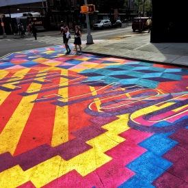 taking street art to a new level. brooklyn, new york. july 2016.